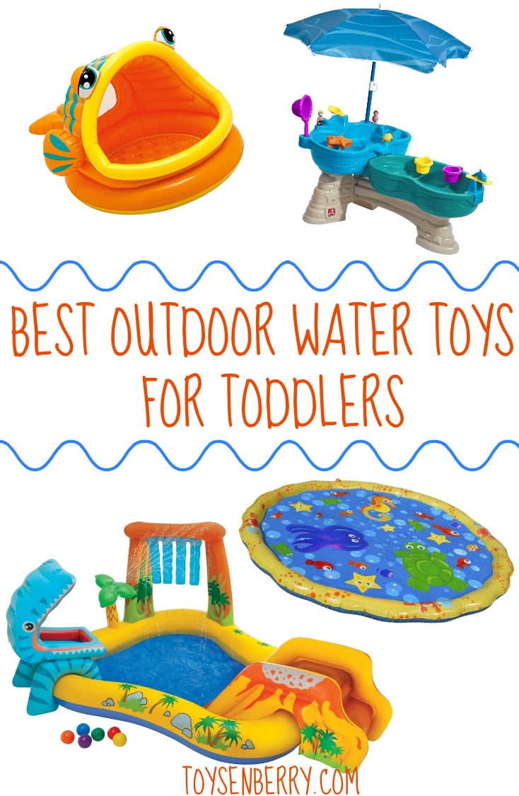 8 Best Outdoor Water Toys for Toddlers to Have Fun in the Sun